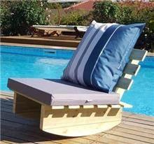 נדנדת כיסא זולה יחיד - GARDENSALE