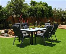 מערכת שולחן + 6 כורסאות לגינה נועה - GARDENSALE