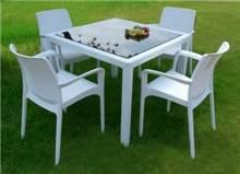 שולחן ויולה + 4 כיסאות באלי - GARDENSALE