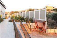 גדר PVC ויניל חרמון גובה 1.80 צבעוני - GARDENSALE