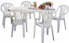 שולחן + 6 כסא דליה - GARDENSALE