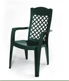 4 כיסאות פלסטיק כתר דגם לירון - GARDENSALE