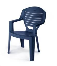6 כיסאות פלסטיק דגם יוני כתר - GARDENSALE