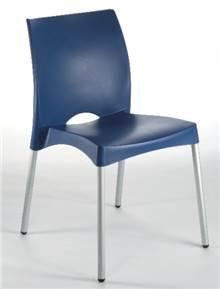 6 כיסאות פלסטיק דגם וונוס - GARDENSALE