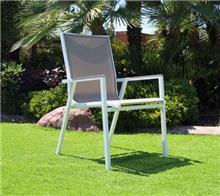 כיסא אלומניום דגם אגם - GARDENSALE