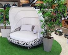 מיטת שיזוף זוגית לגינה דגם דורית - GARDENSALE