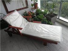 מיטת שיזוף יוקרתית מעץ - GARDENSALE