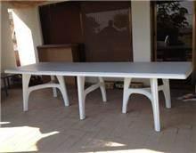 שולחן אירוח פלסטיק נפתח - GARDENSALE