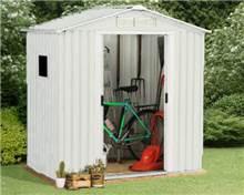 מחסן מתכת משודרג Super Garden Shed P24 - GARDENSALE
