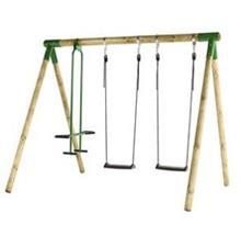 נדנדה Bruk Wooden Swing Classic - GARDENSALE