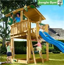 מתקן משחקים לחצר דגם Gym Chalet