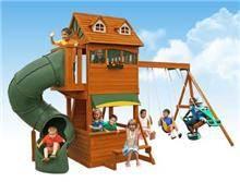 מתקן משחקים לחצר - הטירה - GARDENSALE