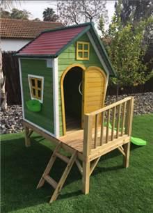 בית עץ לילדים דגם הבית של פיסטוק - GARDENSALE