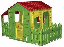 בית ילדים עם מרפסת מקורה וגדר - GARDENSALE