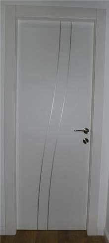 דלת פנים שני גלים ניקל