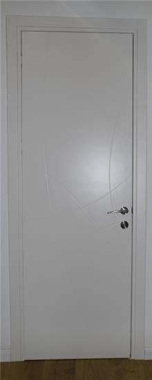 דלת פנים חריטות גלים
