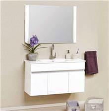 ארון אמבטיה תלוי שקד
