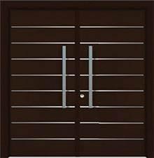 דלת שריונית 8001 כפולה