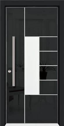 דלת שריונית מעוצבת 8005 - אינטרי-דור דלתות פנים וחוץ