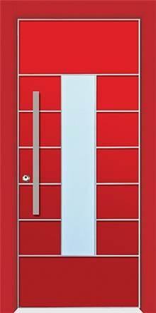 דלת שריונית 8005 אדומה