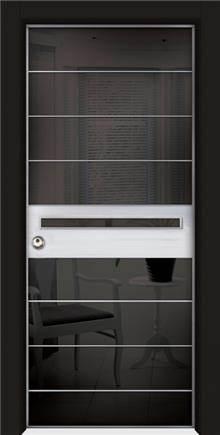 דלת מעוצבת שריונית 8006 - אינטרי-דור דלתות פנים וחוץ