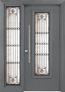 דלת שריונית 7050- סורג 21 - אינטרי-דור דלתות פנים וחוץ