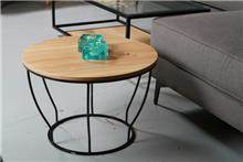 שולחן סלון עגול - רהיטי ברכת השם