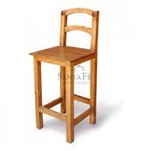 כיסא בר עשוי עץ אורן - הגלריה המקסיקנית