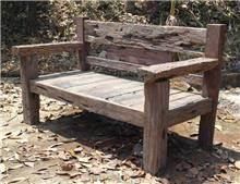 ספסל עץ אינדונזי