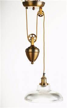 מנורה לתלייה מזכוכית AM817