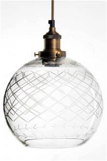 מנורה לתלייה מזכוכית AM718