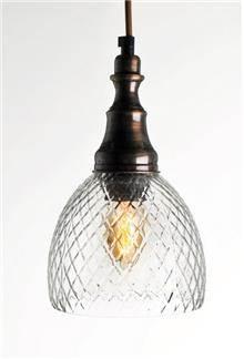 מנורה לתלייה מזכוכית AM246 - הגלריה המקסיקנית