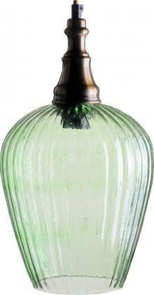 מנורה לתלייה מזכוכית AM260 ירוק - הגלריה המקסיקנית