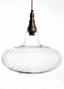 מנורה לתלייה מזכוכית AM725 - הגלריה המקסיקנית
