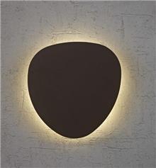 קיר LED 12W שחור - תמי ורפי תאורה מעוצבת
