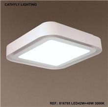 מנורת תקרה 3 מצבי הדלקה LED 90W - תמי ורפי תאורה מעוצבת