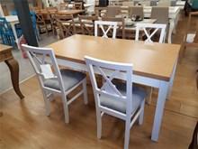 שולחן פינת אוכל KENIA + כיסאות DK12 - רהיטי זילבר