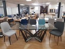 שולחן אסטון + 6 כיסאות Olivier - רהיטי זילבר
