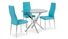שולחן פינת אוכל דגם AGIS + כיסאות - רהיטי זילבר