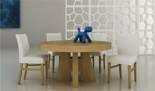 שולחן עגול מון - רהיטי זילבר