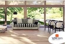 ספה מעוצבת זברה