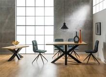 שולחן אוכל מעץ Cross - רהיטי זילבר