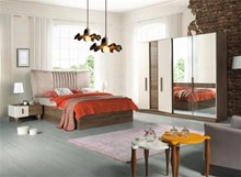 חדר שינה קומפלט LUCIAN - רהיטי זילבר