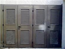 """דלתות כניסה מסוגננות   - מסגרית הדודים בע""""מ"""