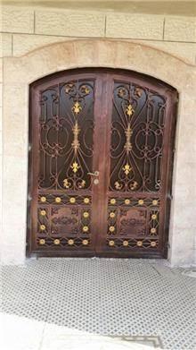 """דלתות כניסה יפות - מסגרית הדודים בע""""מ"""