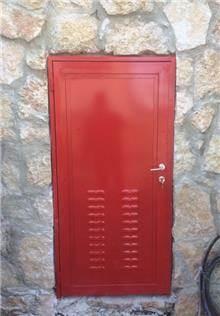 """דלת כניסה בעיצוב מרהיב - מסגרית הדודים בע""""מ"""
