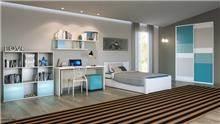 חדר ילדים ונוער דגם רום - רהיטי דורון