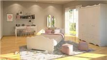 חדר ילדים ונוער דגם פרינסס - רהיטי דורון