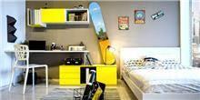 חדר ילדים ונוער דגם תומר - רהיטי דורון