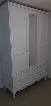 ארון 3 דלתות - דגם פרובנס